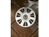 Vauxhall Corsa wheel trim