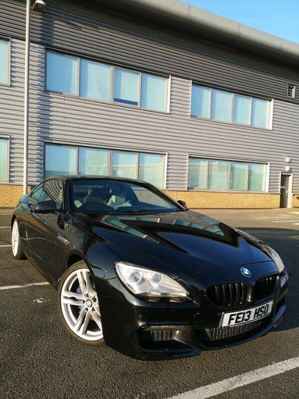 ⭐2013 BLACK BMW 640D M SPORT COUPE⭐BMWSH⭐e350 640I X6M⭐335D 140i 135i