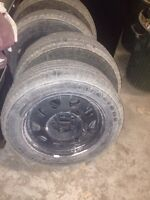 215/60r17 tires and rims