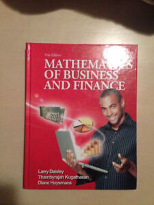 Mathematics​ of Business & Finance