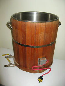 Mash Lauter Tun for beer brewing