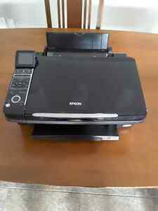 Epson Stylus NX400 All-in-One Printer with Extra Ink Cartridges