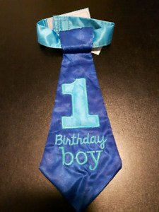 1st birthday tie
