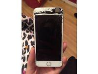 iPhone 6 smashed