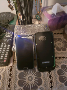 Samsung Galaxy S6 128gb with Mophie Juice Pack