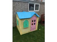 Little tykes garden play house