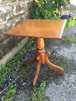 Very old small end or side table $45