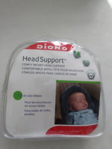 Comfy infant head support