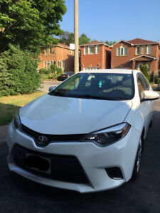 2015 Toyota Corolla LE - LOW KMS, CLEAN, ACCIDENT FREE
