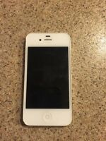 White IPhone 4s for sale (Telus or Koodo)