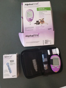 AlphaTrak Veterinary Blood Glucose Monitoring System