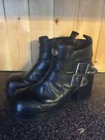 Woman's size 8 HARLEY DAVIDSON boots