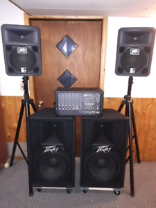 Peavey XR600G PA system