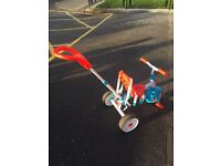 Pedal 3-in-1 Trike - Orange and Blue