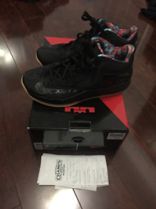 Nike Zoom Lebron XI (11) Low Gum/Black VNDS - Size 9