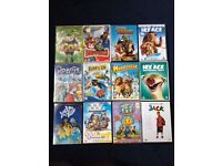 kids DVDs job lot of 12