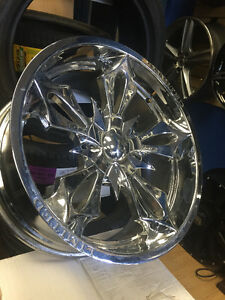 22 inch Like New LIMITED Wheels -- 5x127 // 5x135