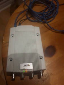 AXIS 4 Channel Video Encoder With 2 Video Streams