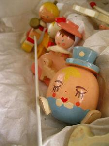Vintage baby crib mobile IRMI / Mobile pour berceau de bébé IRMI