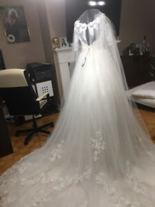 weeding gown