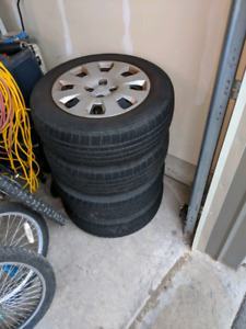 185/65/14 all season tires and rims