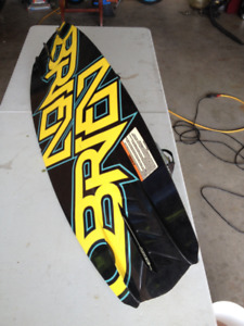 Obrien Wakeborad with Ronix Bindings