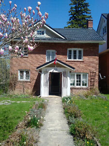 Sept-May/June Century Home, FURNISHED, on the River, Owen Sound!