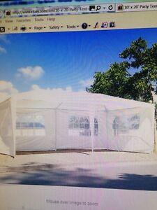 Gazebo part tent 10 X 20 new in box
