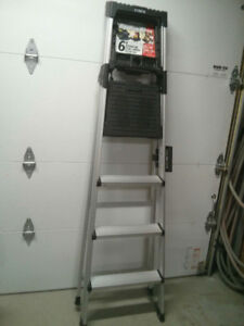 6' aluminum Cosco stepladder