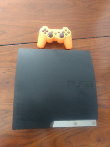 PS3 Slim with 35 Great Games - Excellent Condition - Many Excl.