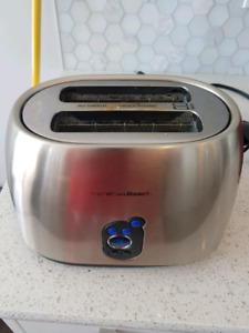 Hamilton beach 2 slot toaster