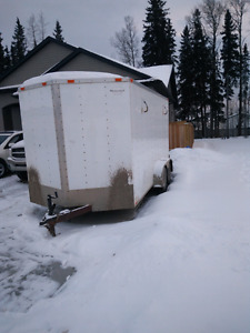 14ft enclosed trailer