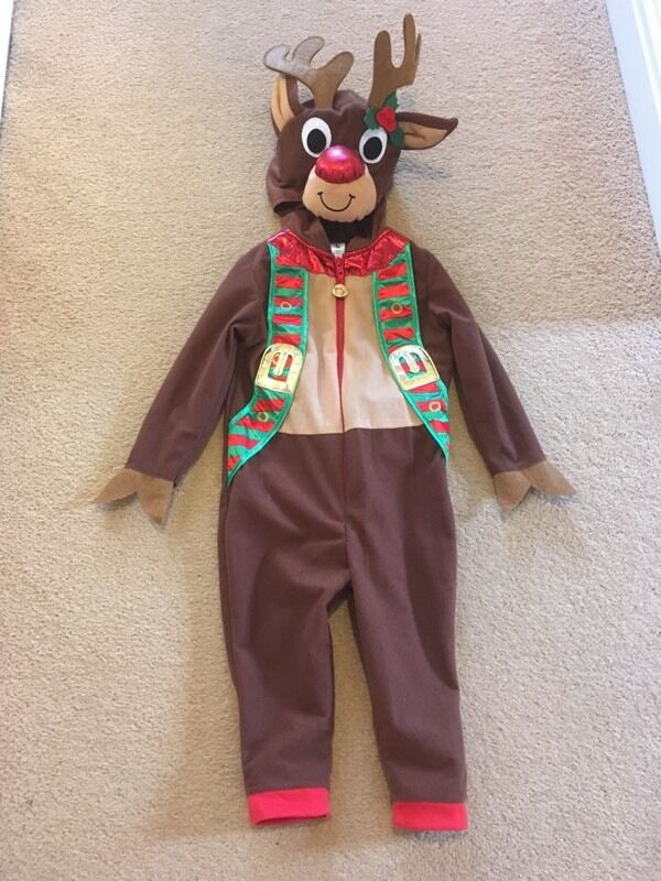 Child's reindeer outfit. Age 1-2yrs.