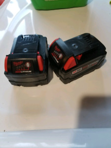 Milwaukee 18v battery