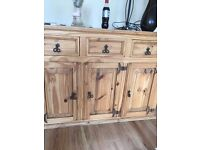 Mexican Pine Sideboard (storage)