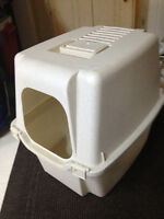 large covered litter box