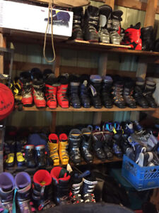 Downhill and Xcountry Boots, Skis and Poles - Many Sizes!