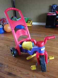LEARN TO PEDAL TIKES CONVERTABLE TO ROCKER Kitchener / Waterloo Kitchener Area image 1