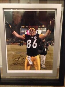 Steelers Hines ward signed photo