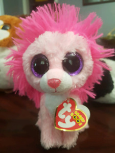 TY BEANIE BOOS WITH TAGS FLUFFY