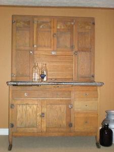 Antique Bakers cupboard from the 1930's