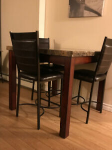 Dining table $250