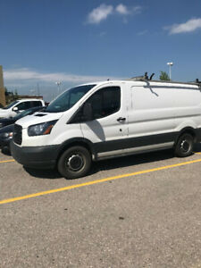 Ford Transit 150 with tools