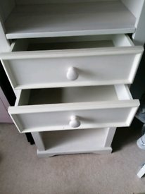 Pine White Washed Bedroom Furniture