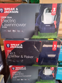 Garden Equipment including Lawnmowers. Grass Strimmers. Hedge Tri