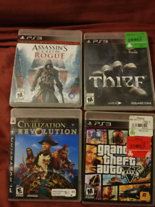 Playstation 3 games (Ps3)