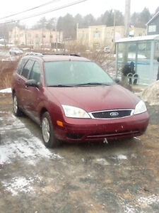 2006 FORD FOCUS ZXW  LOADED ONLY 128KMS ONLY $2781.NOW $2481