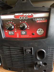 New Lincoln Electric Welder 140 Weld-Pak