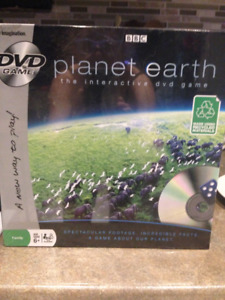 Planet Earth interactive DVD game  ages 6+ NEW