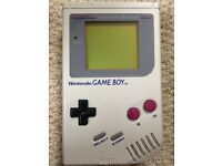 Original Game boy 1989 with game